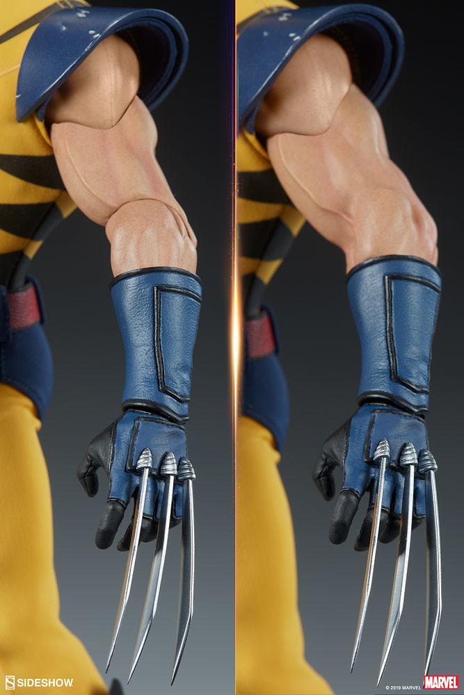 Sideshow Collectibles Marvel Comics【金鋼狼】Wolverine 1/6 比例人偶作品 普通版/EX版