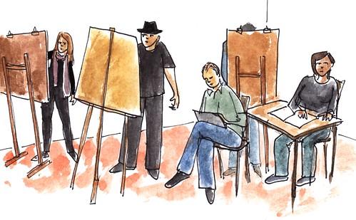 Modeltekenen / life drawing