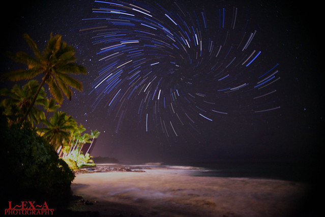 Hawaii Coast Star Trail LEXA