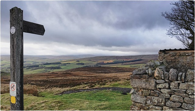 head west in Weardale