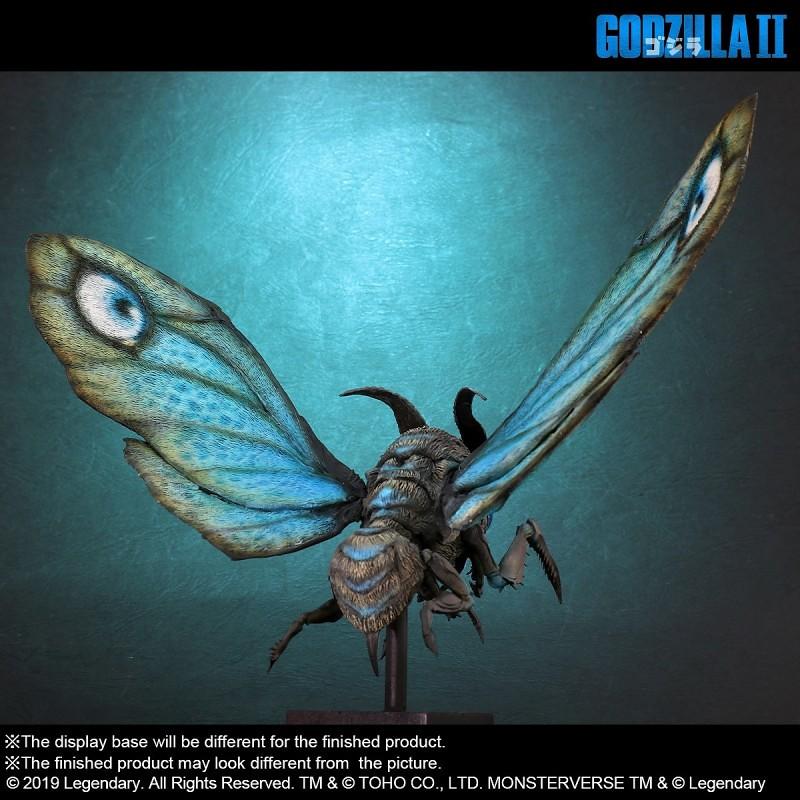 X-PLUS Deforeal《哥吉拉2:怪獸之王》摩斯拉(2019)|デフォリアル  モスラ(2019)【少年RIC限定】