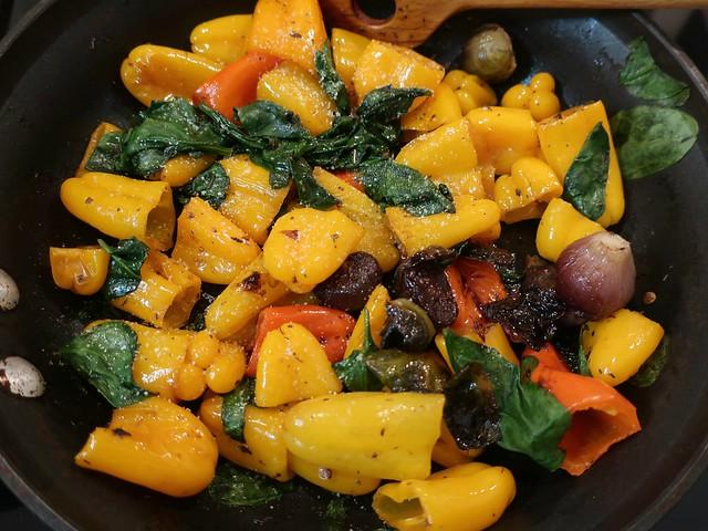 Sunday Colours - Sauteed Mini Peppers