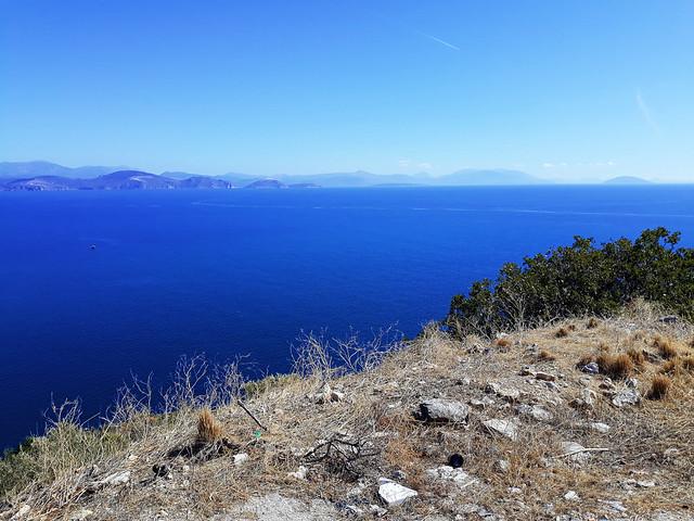The Argolic Gulf, Peloponnese, Greece.