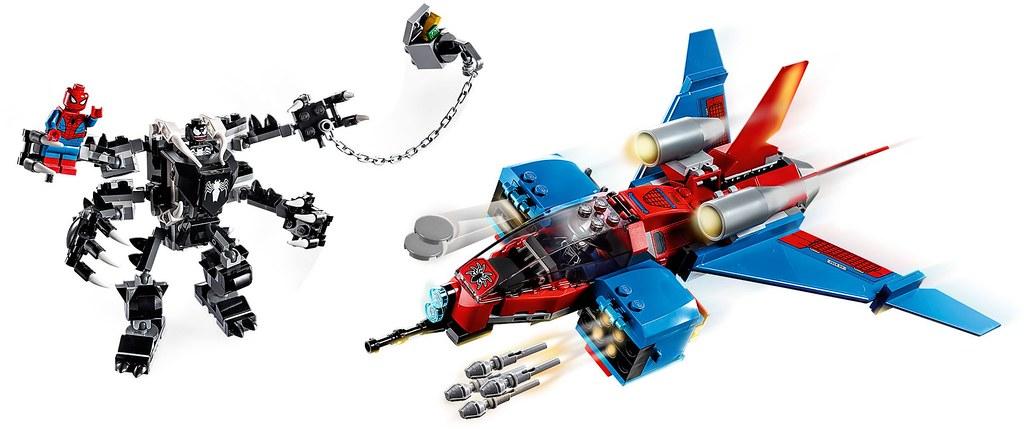 LEGO 76146~76150 漫威超級英雄系列 Marvel Super Heroes 多款「蜘蛛人」主題盒組發表!