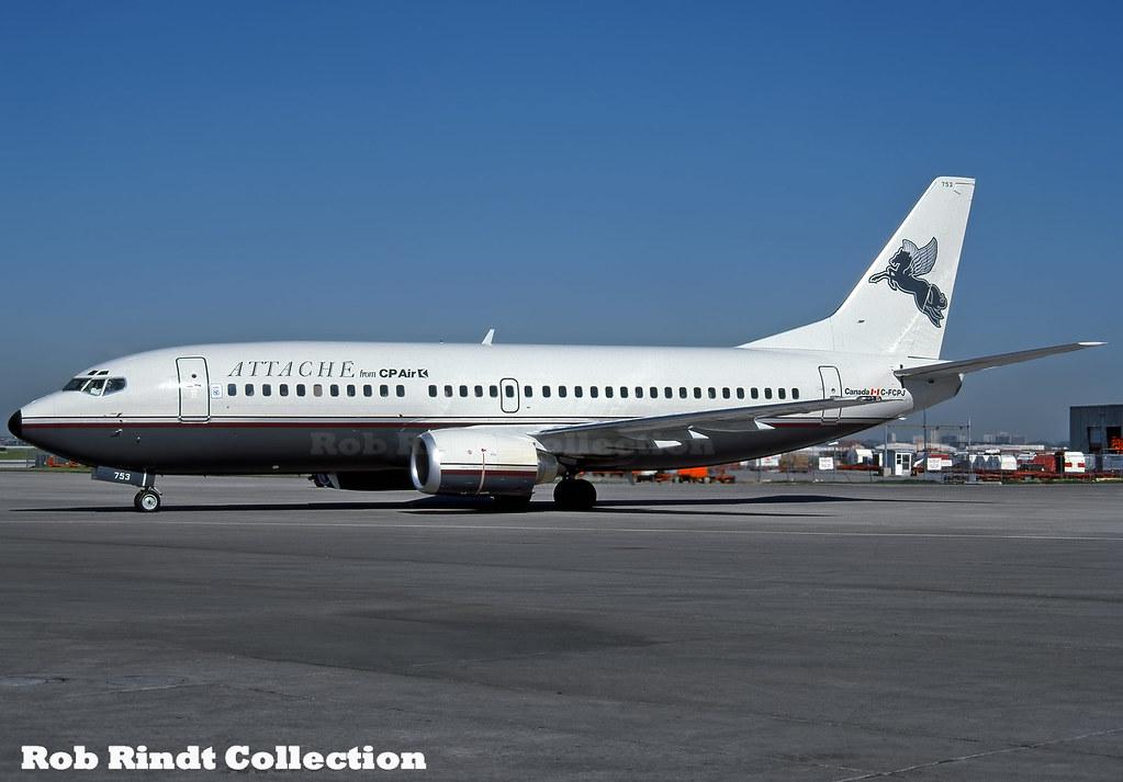 CP Air Attache B737-317 C-FCPJ