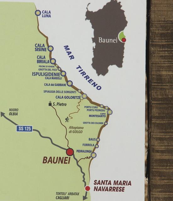 Baunei Ogliastra Sardegna Italia