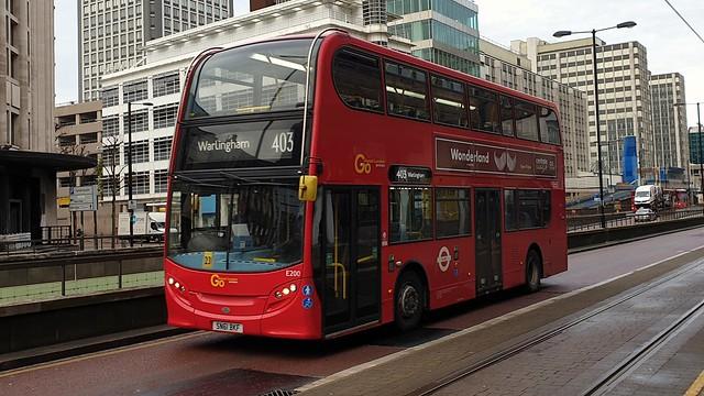Go-Ahead London E200 (SN61 BKF) Croydon 16/12/19
