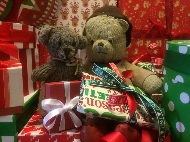 Paddington, Scout and the Christmas Presents 4.