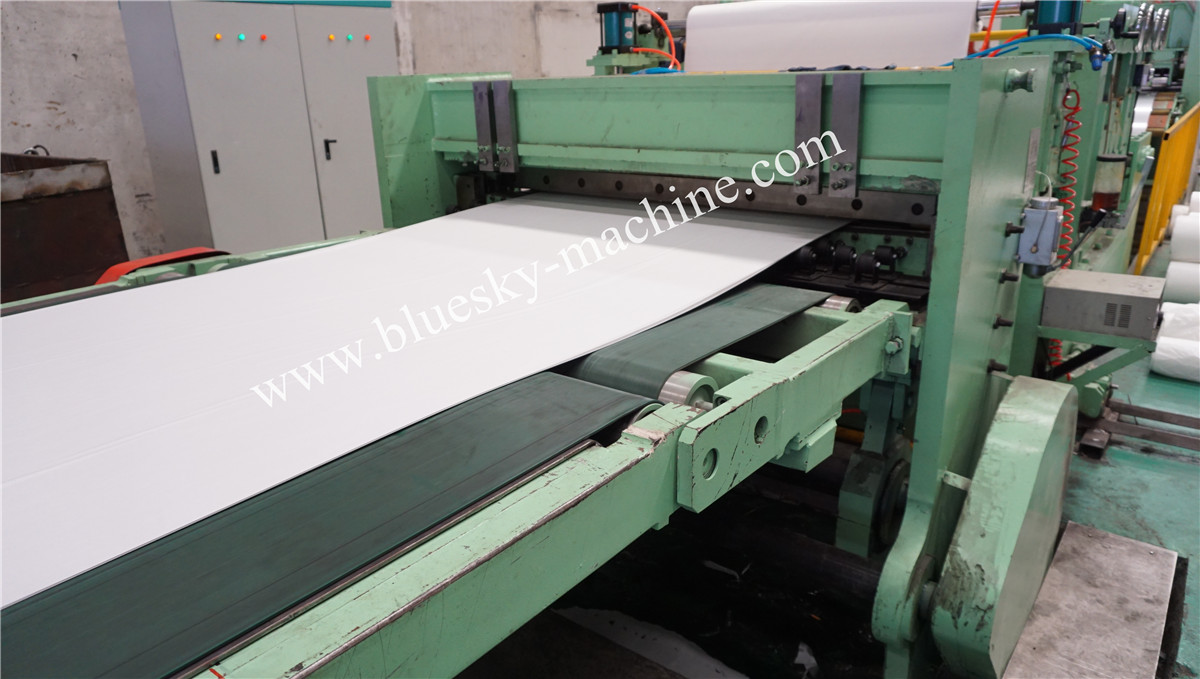 High Speed Stainless Steel Cut To Length Line Machine Unloading Worktable