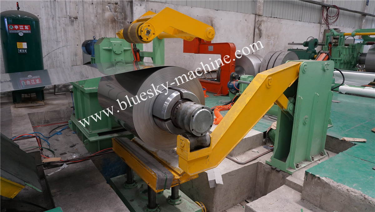 High Speed Stainless Steel Cut To Length Line Machine Material Platform