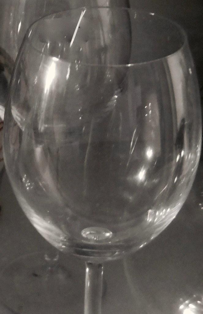 Glas ohne Wein