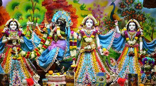 ISKCON Nasik Deity Darshan 16 Dec 2019