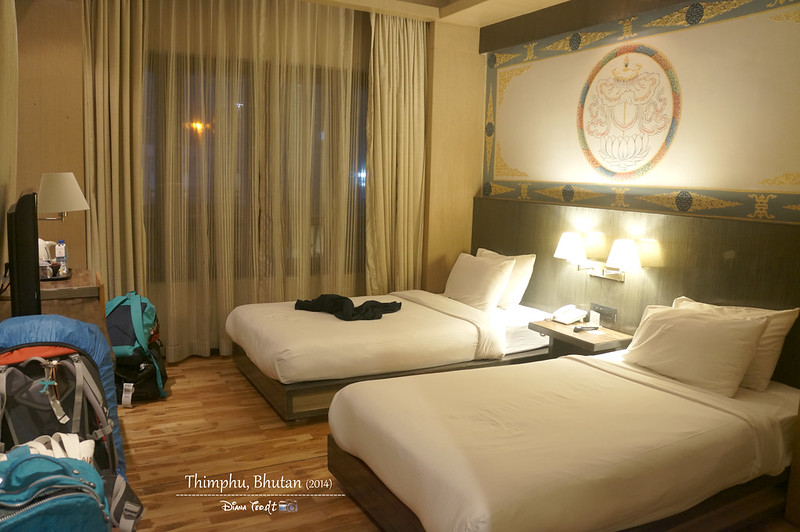 Bhutan Day 1 - Thimphu Hotel Pedling 1