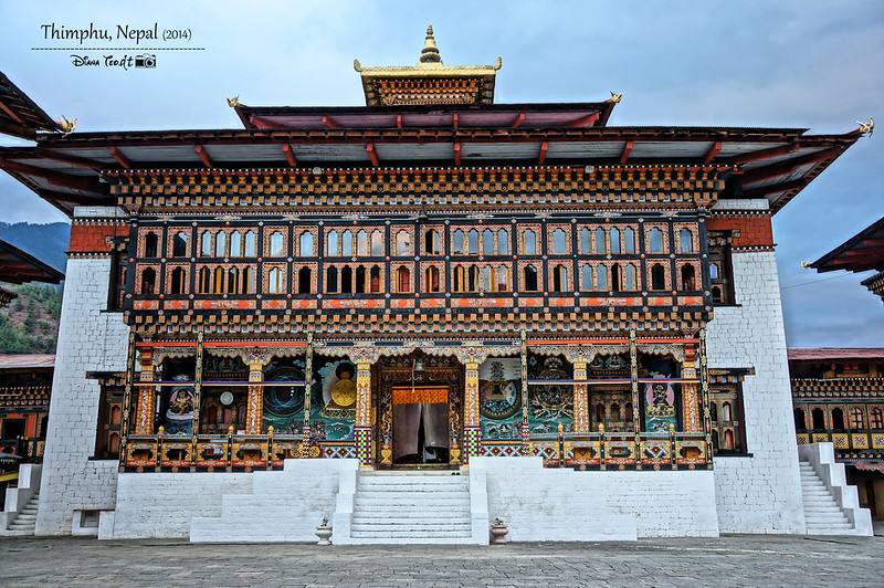 Bhutan Day 1 - Tashichho Dzong 1