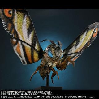 X-PLUS Deforeal《哥吉拉2:怪獸之王》摩斯拉 2019(デフォリアル モスラ(2019) 一般流通版)一般流通版