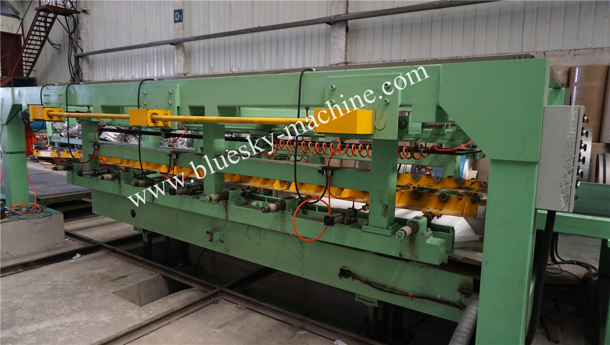 High Speed Stainless Steel Cut To Length Line Machine Pneumatic Stacker(Air Blower)