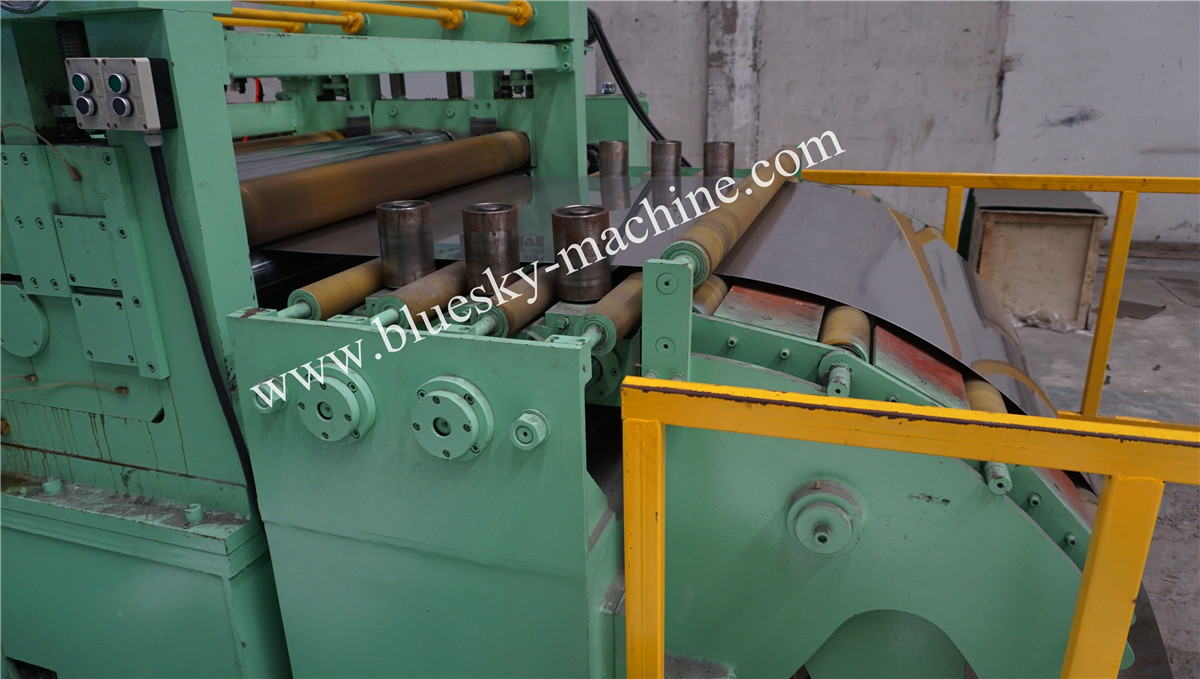 High Speed Stainless Steel Cut To Length Line Machine Side Guide