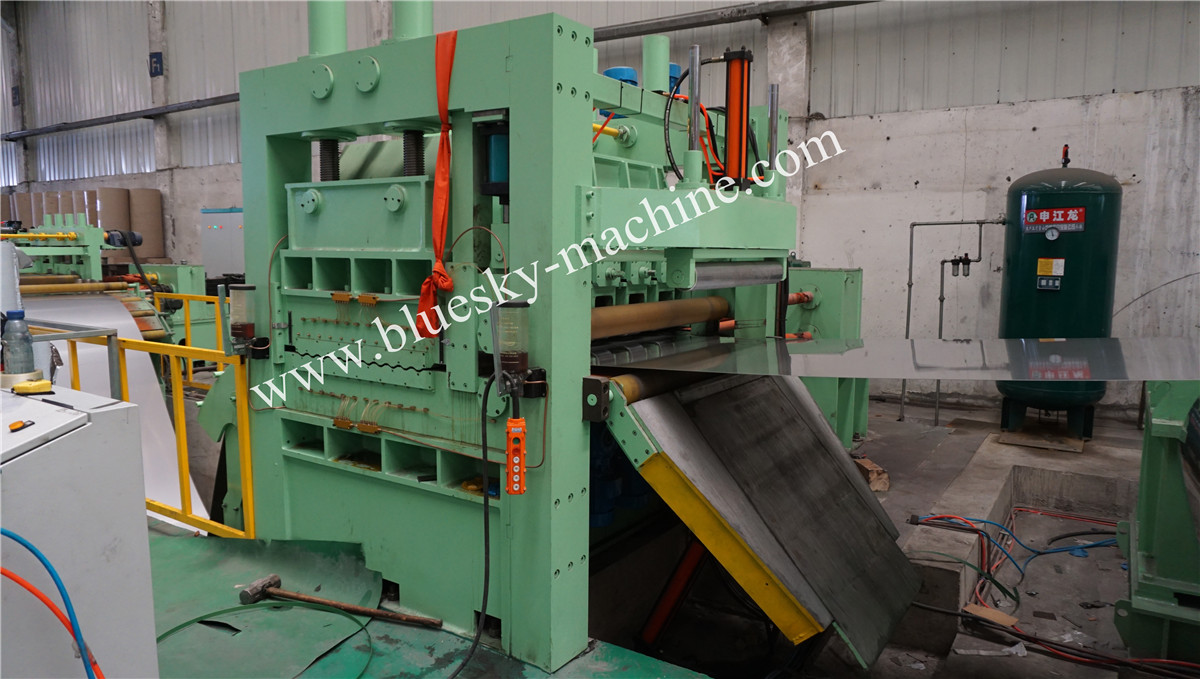 High Speed Stainless Steel Cut To Length Line Machine Hydraulic Uncoiler