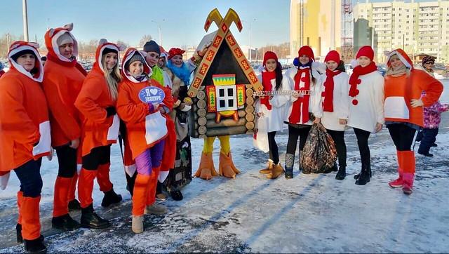 Открытие резиденции Деда Мороза в Экопарке