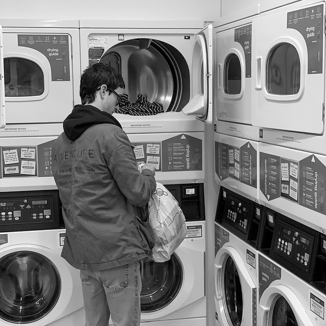 End of term laundry