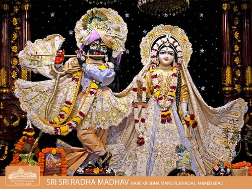 Hare Krishna Temple Ahmedabad Deity Darshan 16 Dec 2019