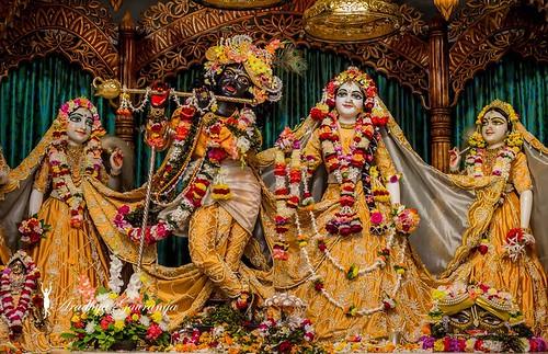 ISKCON Mayapur Deity Darshan 16 Dec 2019