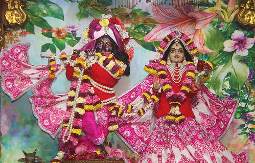 ISKCON Delhi Deity Darshan 16 Dec 2019