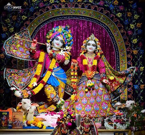 ISKCON Pune NVCC Deity Darshan 16 Dec 2019