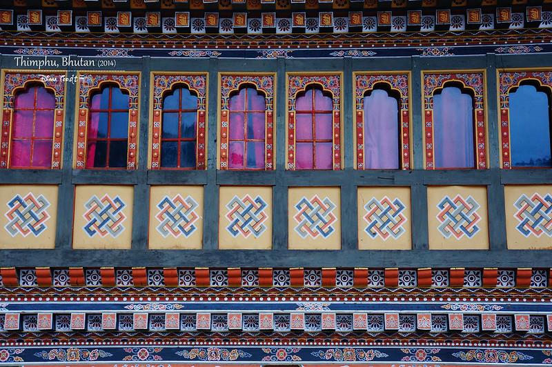 Bhutan Day 1 - Tashichho Dzong 4
