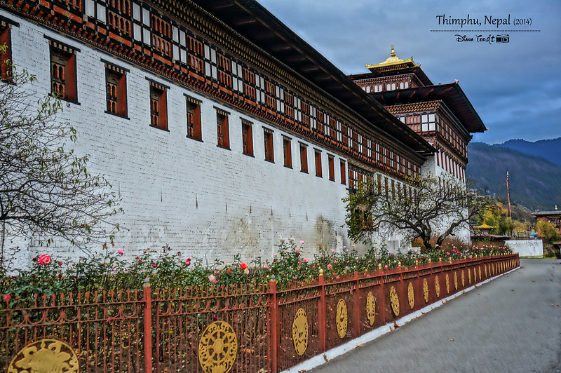 Bhutan Day 1 - Tashichho Dzong 2
