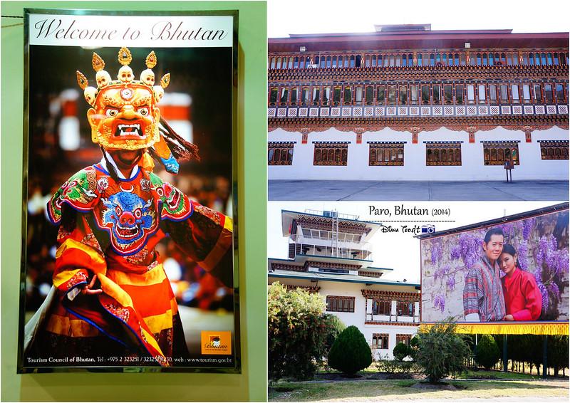 Bhutan Day 1 - Paro Airport 2