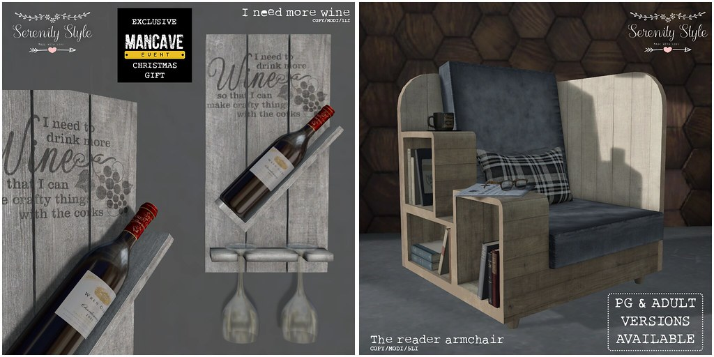 Serenity Style- Man Cave Exclusive and Gift