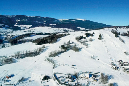 Kunčice - rodinné lyžování s domáckou péčí