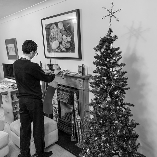 Preparing for Christmas