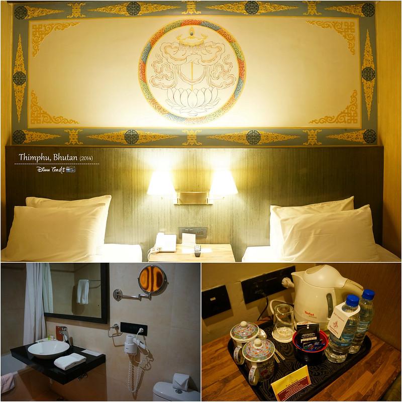 Bhutan Day 1 - Thimphu Hotel Pedling 2