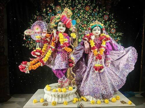 ISKCON Rajkot Deity Darshan 16 Dec 2019