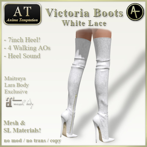 AT Victoria White Lace