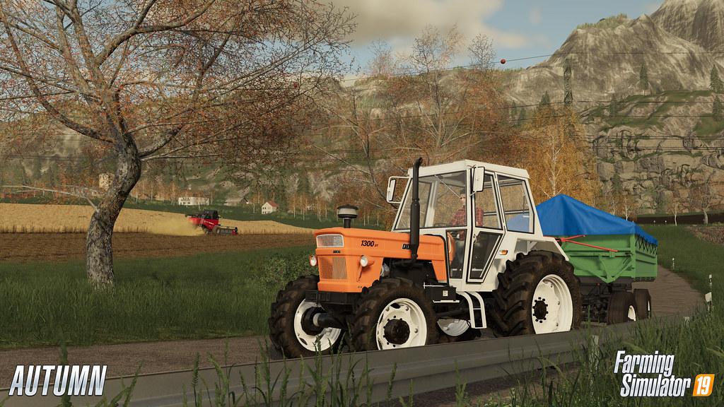 Landwirtschafts-Simulator 19 on PS4