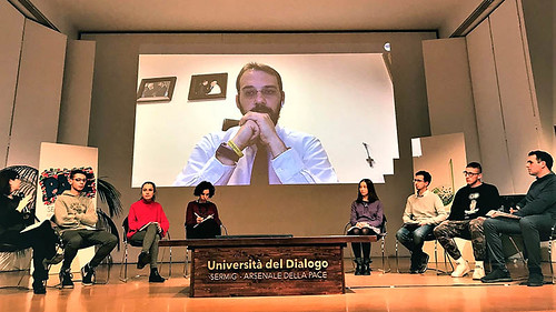 Paolo Borrometi all'Università del Dialogo Sermig