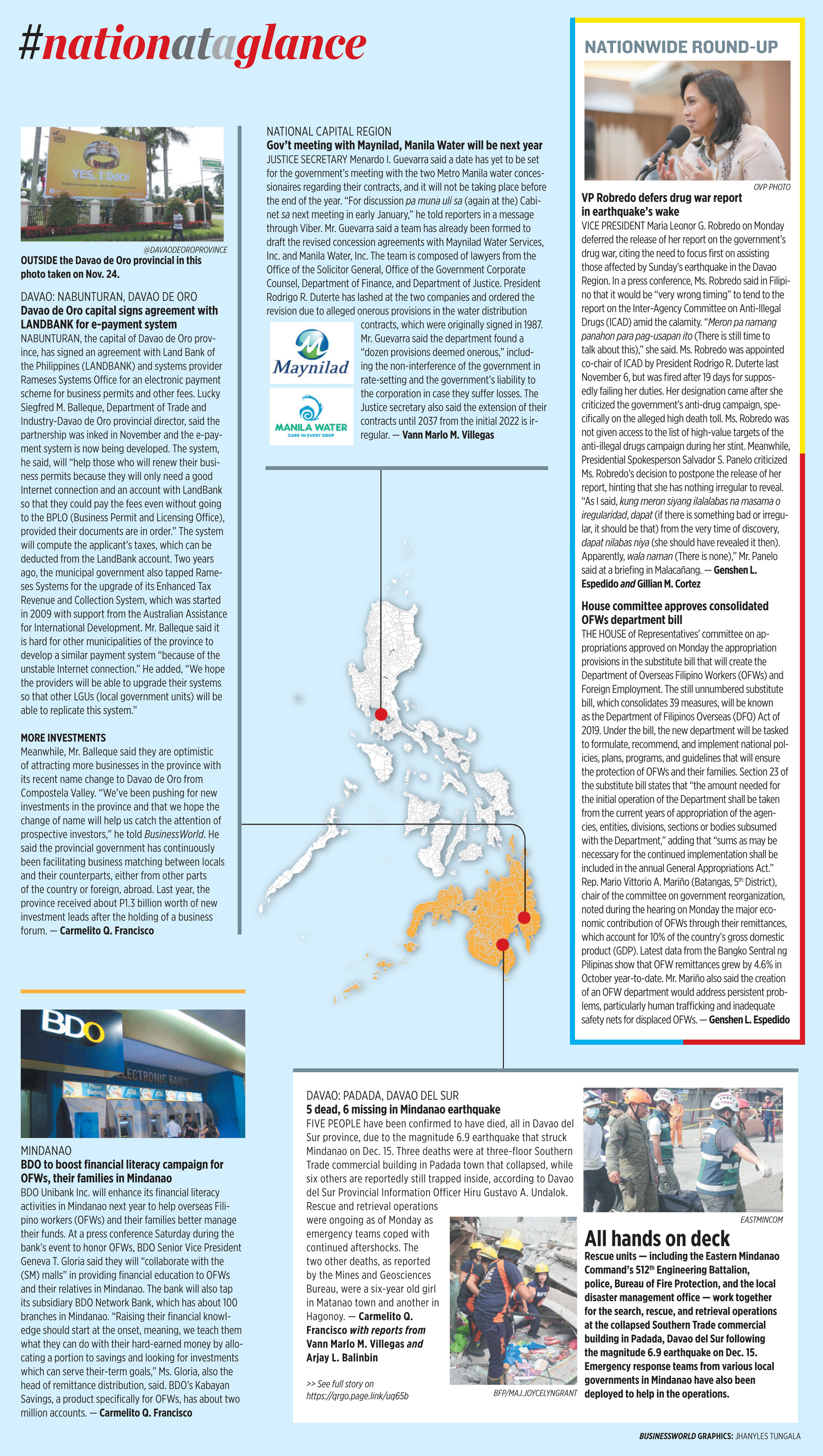 Nation at a Glance — (12/17/19)