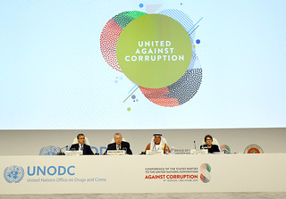 The eighth session of the Conference of the States Parties to the United Nations Convention against Corruption
