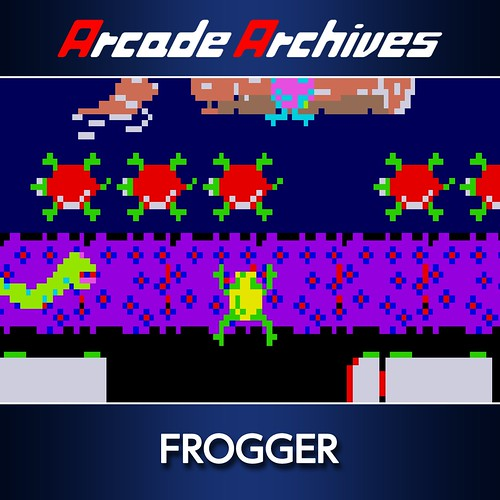 Thumbnail of Arcade Archives FROGGER on PS4