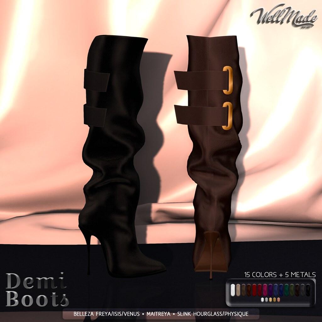 [WellMade] Demi Boots