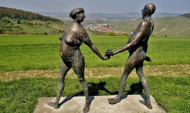 Germany, rund um Strümpfelbach i.Remstal, , Skulpturenweg, 76864/12184