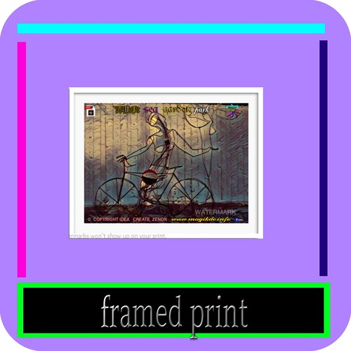 eShop--  framed print | by think Family vacation