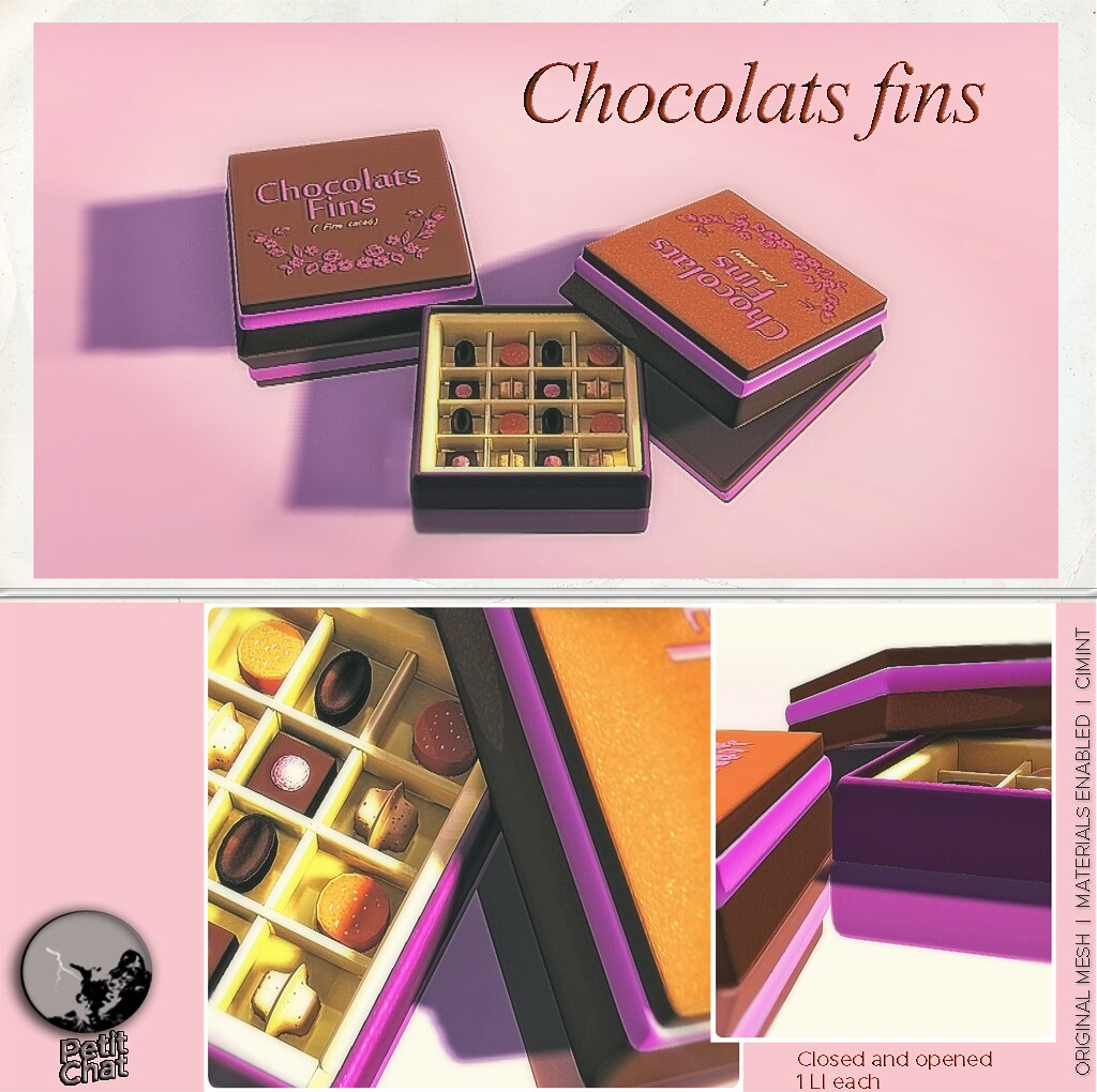 Exclusive Christmas Groupgift : Chocolats fins