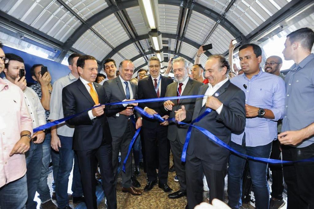 Inauguração de 3 estações da Linha 15- Prata