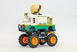 Review: 31104 Burger Monster Truck
