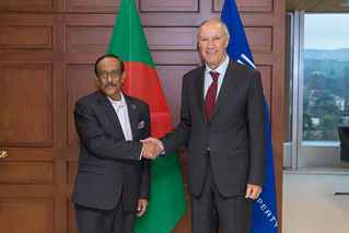 WIPO Director General Meets Bangladesh's Foreign Secretary | by WIPO | OMPI