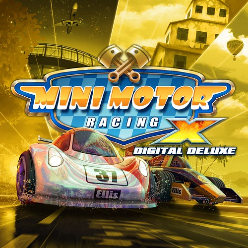 Thumbnail of Mini Motor Racing X Digital Deluxe Edition on PS4